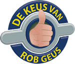 De Keus van Rob Geus logo